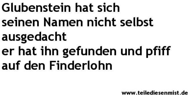 Glubensteins Welt 7