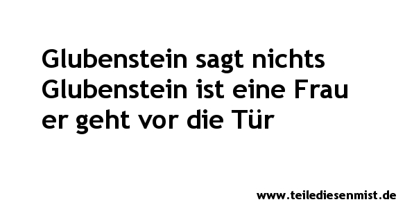 Glubenstein_Frau