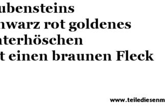 Glubensteins Welt 19