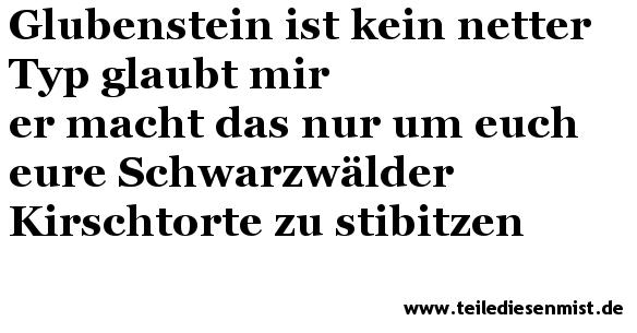 Glubensteins Welt 24